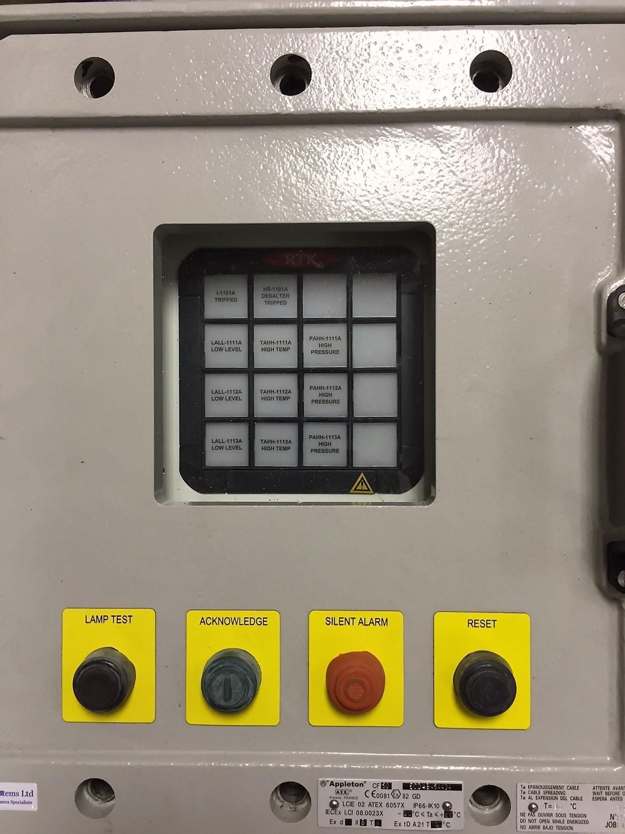 Hazardous Area Enclosures - EExd & EExe | J B  Systems LTD